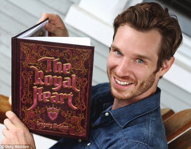 Once upon a time: Greg McGoon created the children's book The Royal Heart, the first fairytale featuring a transgender princess.
